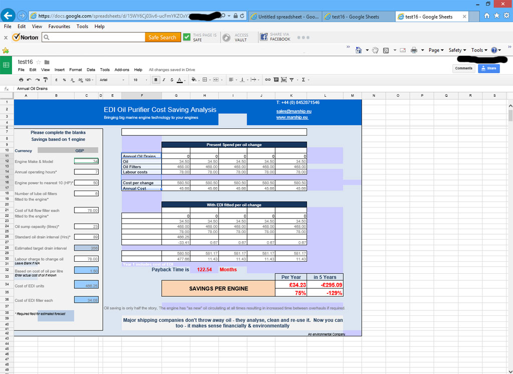 how to create interactive excel web page