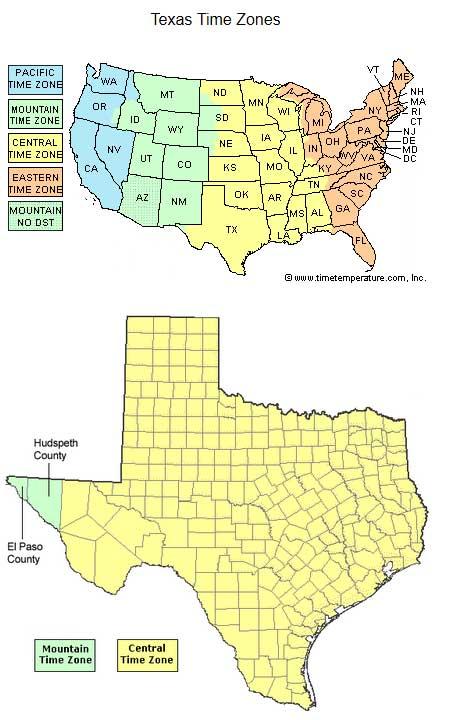 Time Zone Map Idaho Swimnovacom - Texas time zone